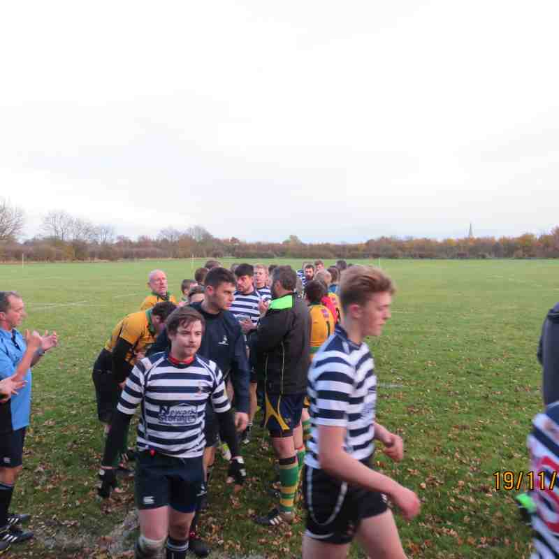 Newark 3rd XV 31 v Retford 2nds 15. 19th Nov 2016.