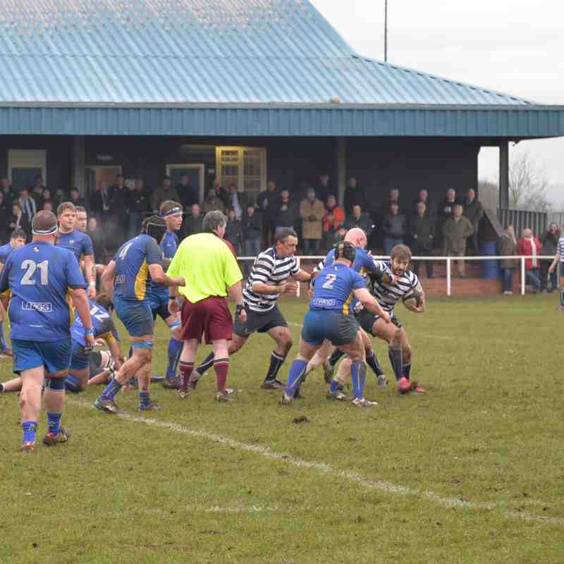 Newark 1st XV v Matlock 7th Jan 2017