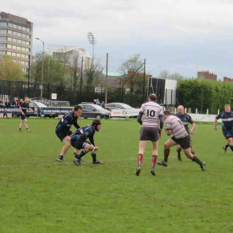 """Newark 2nds v Paviors 2nds """"Ron Rossin Cup"""" 29th April 2018"""
