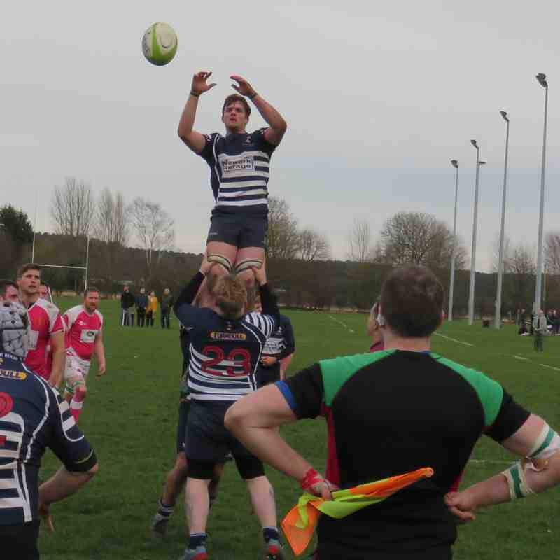 Market Rasen 1stXV v Newark 2nd March 2019