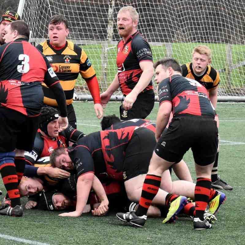 Second team v Leigh 2 - 16th January 2016