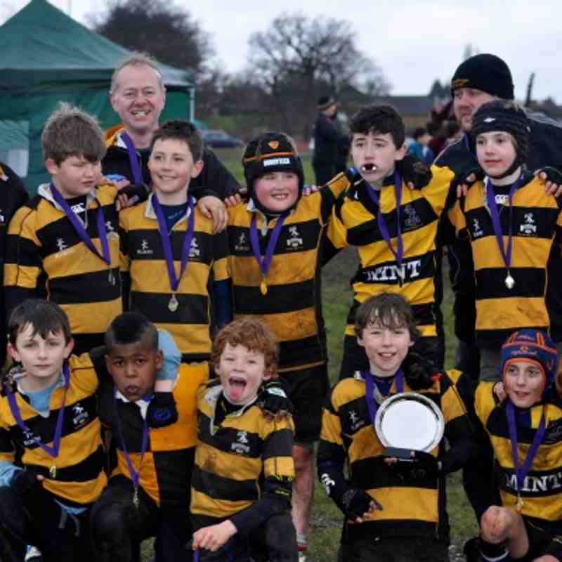 U11 Mitcham Mudfest plate final winners