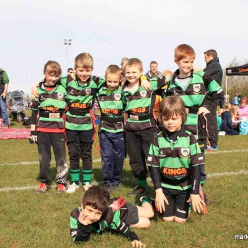 U8s @ Cleve RFC Festival 21st April 2013