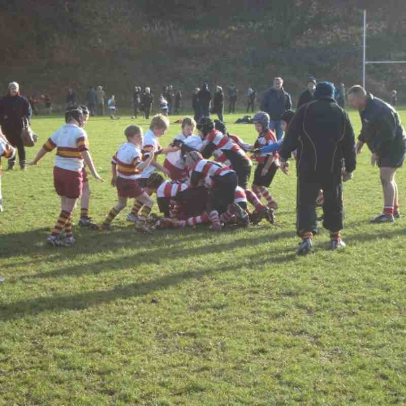 Cleckheaton under 9's V Lockwood Huddersfield 27.11.11