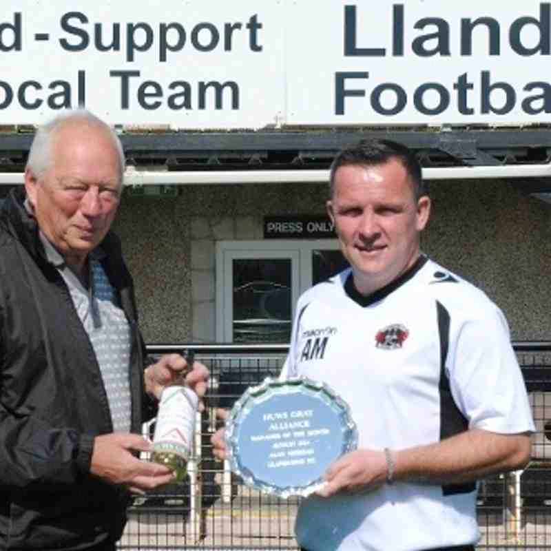 Alan Manager of the month