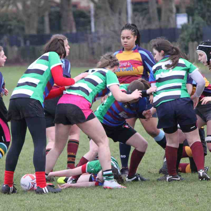 Chesham/Wycombe U18 Girls 28 Vs Bedford/Ampthill Girls 28