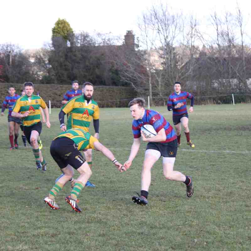 Chesham 1XV 13 Vs Abingdon 21
