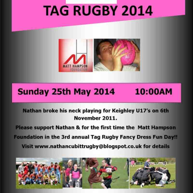 Nathan Cubitt Trust 2014 Tag Rugby