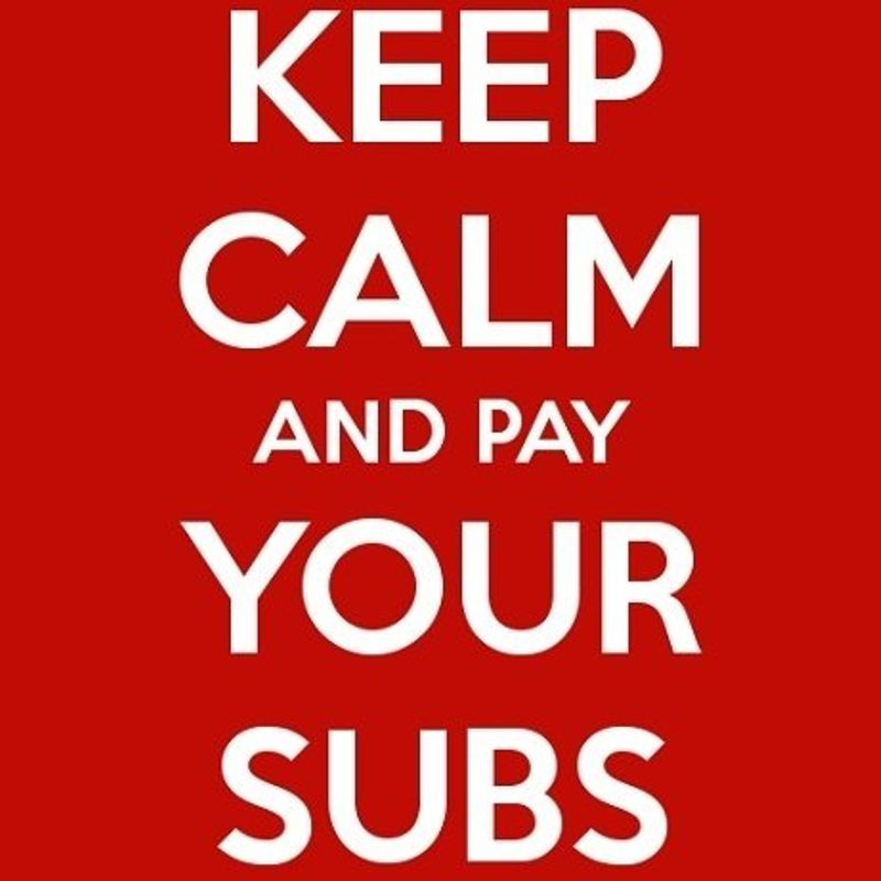 Senior Subscription Fee