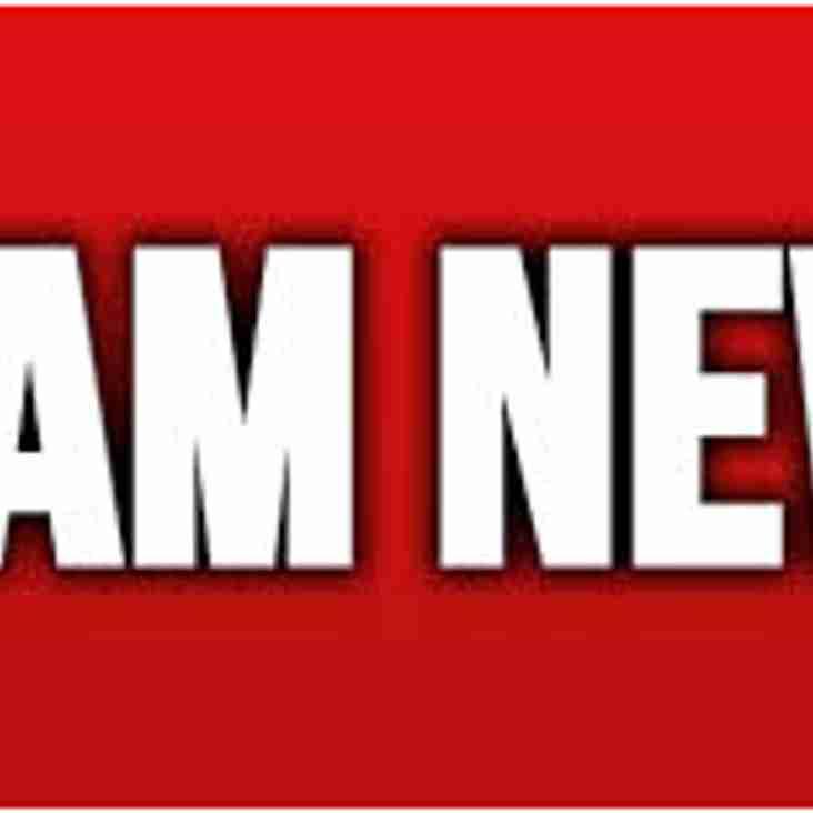 Round 2 Team News