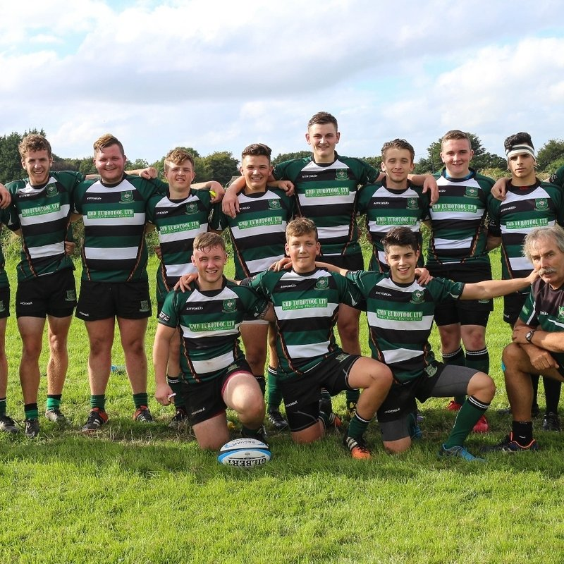 The Colts lose to Ivybridge Colts 58 - 5