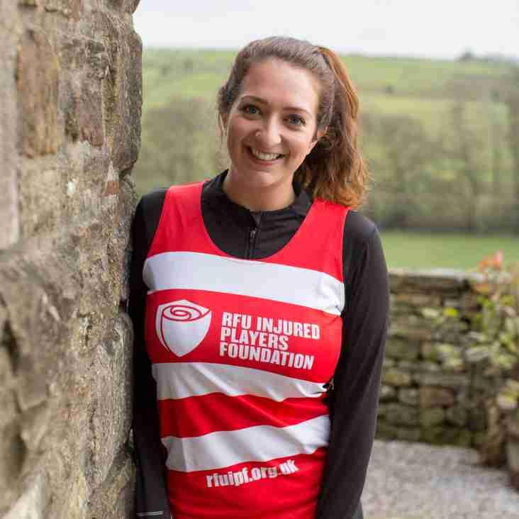 Sarah's Marathon effort for Rams Siren Dani and the IPF