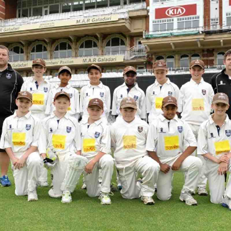 Surrey U11 v Sussex @ Oval 15-June 2014