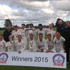 Surrey U-17s are 2015 ECB Cup Winners!