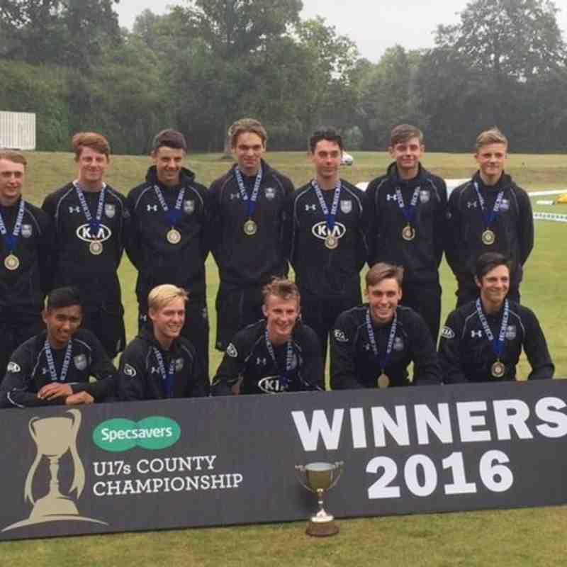 Surrey U17s 2016