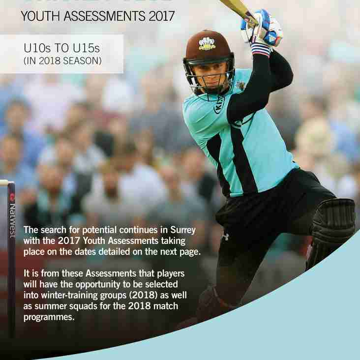 SCCC Youth Assessments 2017