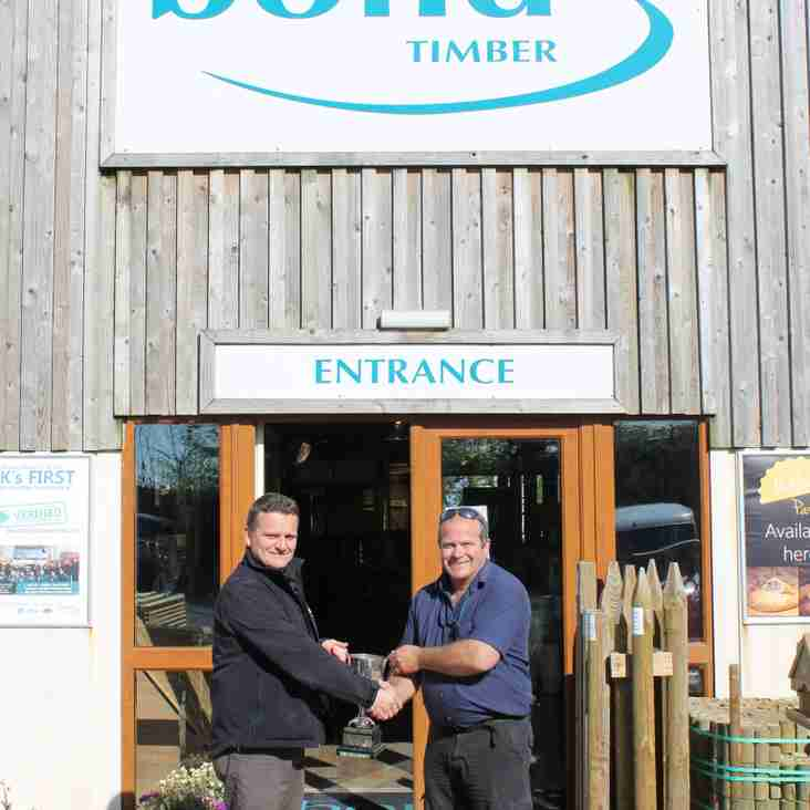 Bond Timber - New League Sponsors