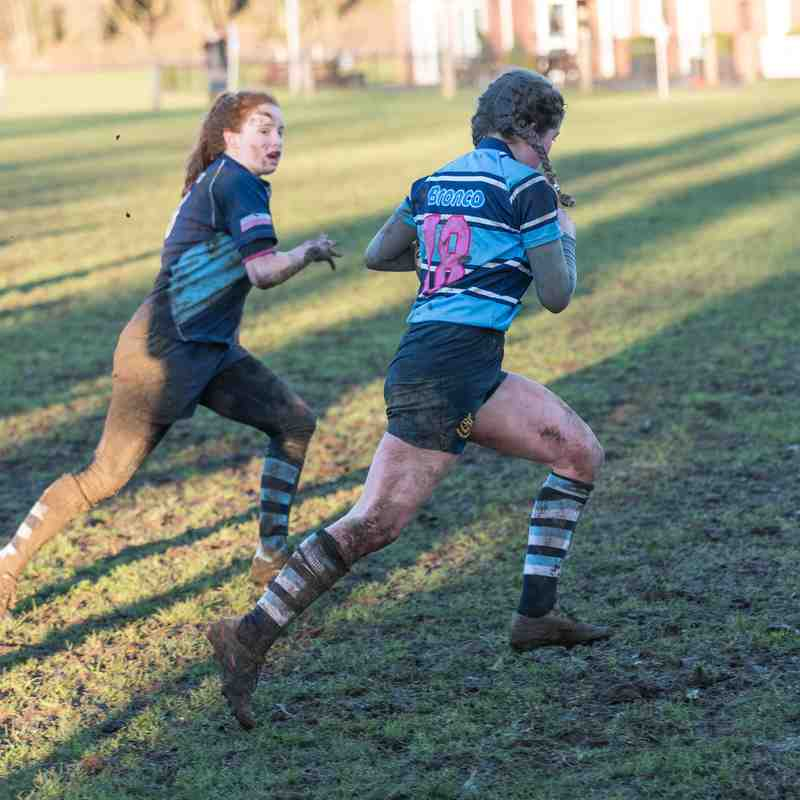 Ripon RUFC Girls U15 vs Bishop Auckland 8th Jan 2017