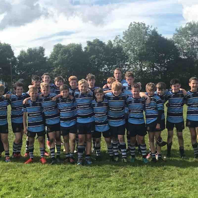 Ripon U13 v Roundhegians 16 Sep 2017
