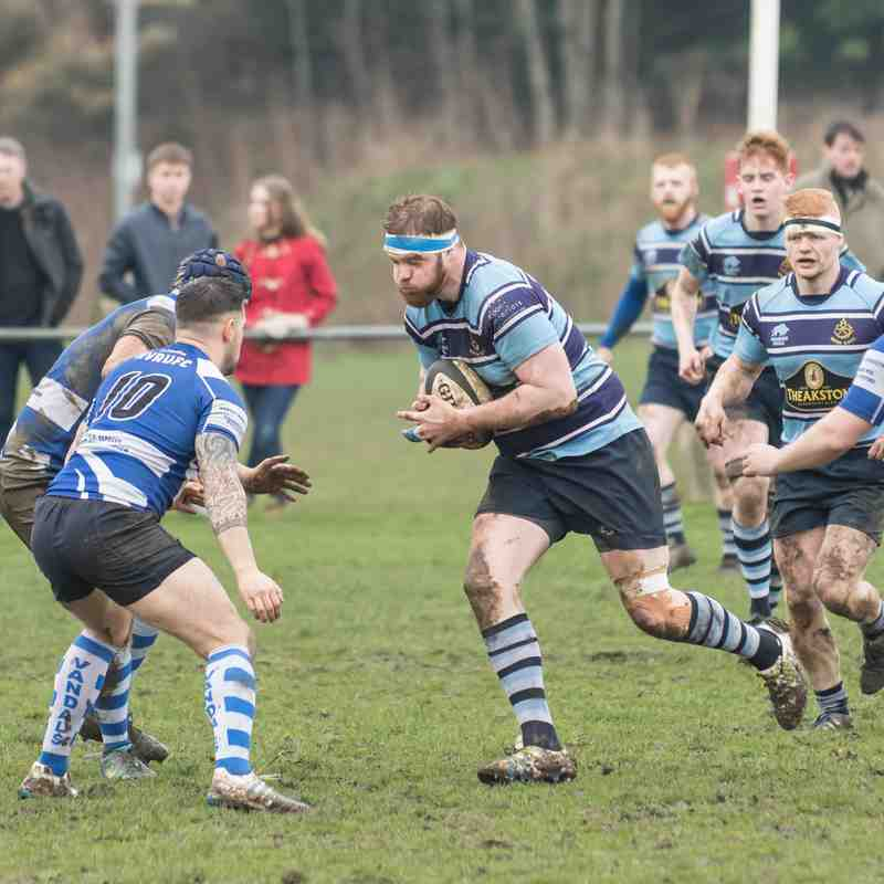 Ripon 1st XV v Halifax Vandals 7th Apr 2018