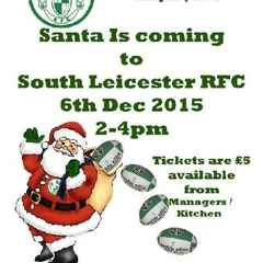 Santa is visiting on the 6th December at 2pm