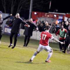 Two Extra Time Goals Take Ammies To Play-Off Final (Report / Interview / Highlights / Photos)