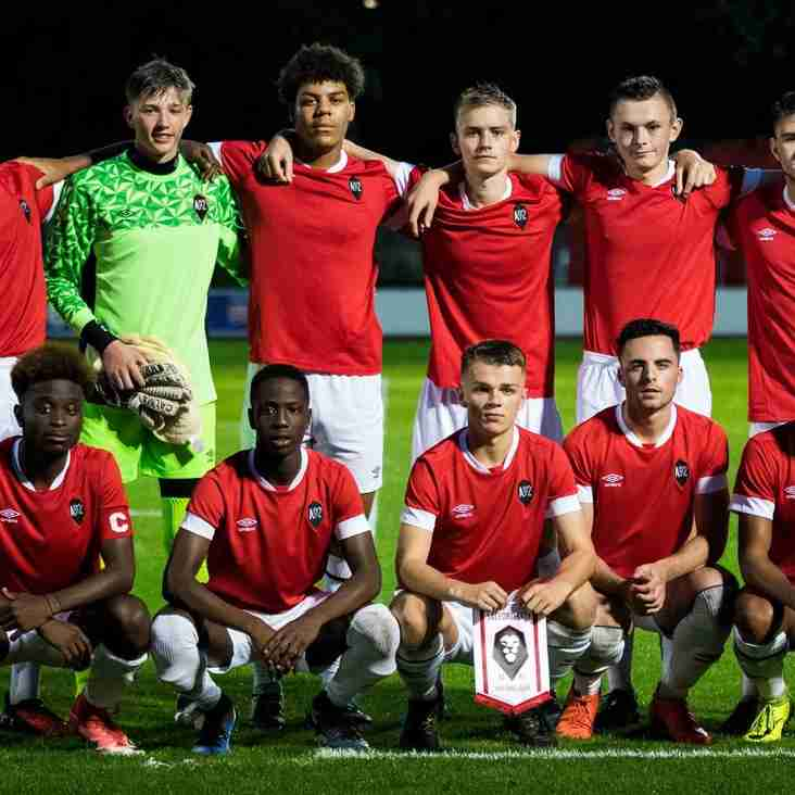 Anointed Hat-Trick Sends Salford Youth Through