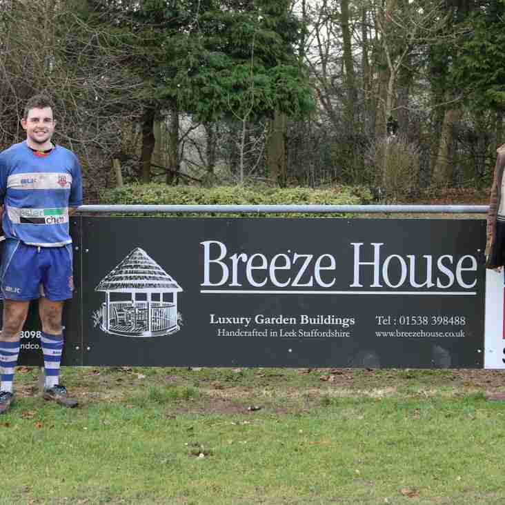A big thank you to last Saturdays sponsors, Breeze House and Chris Mudd