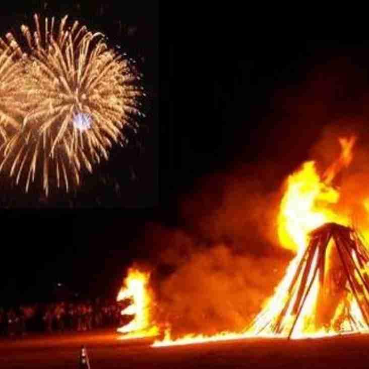 BONFIRE NIGHT & FIREWORK DISPLAY