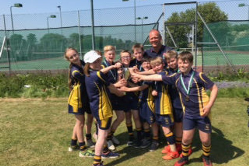 St Edwards /Leek RUFC under 11's County Champions