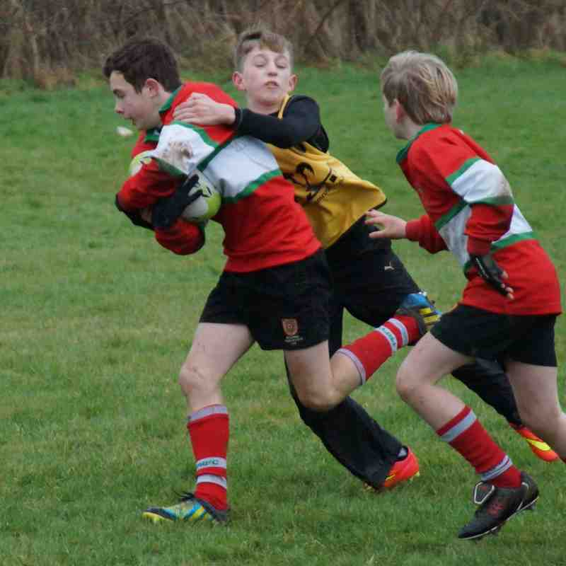 2015-01-04 - U12s at Pulborough