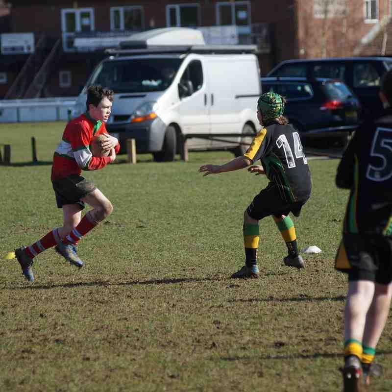 2015-03-01 U12s v Bracknell