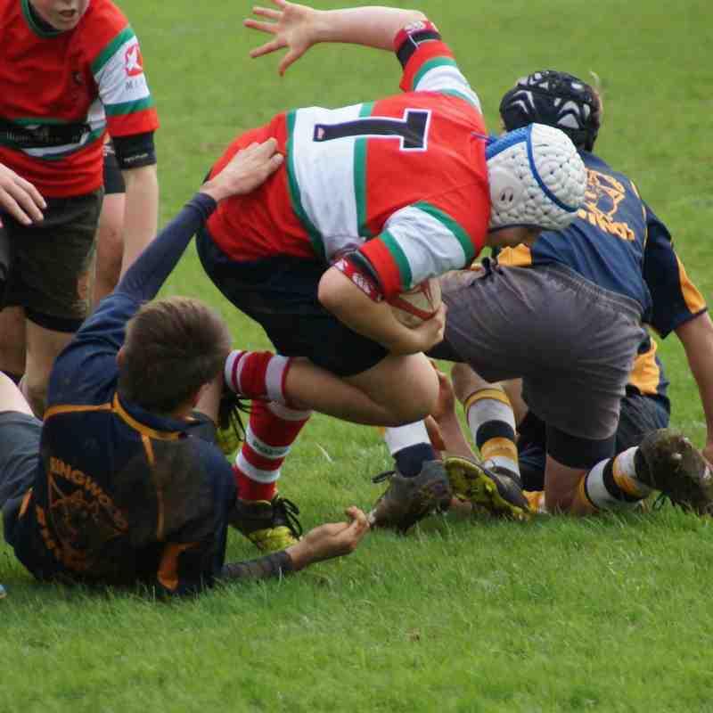 2015-11-15 PRFC U13s v Ellingham & Ringwood
