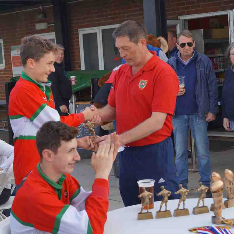 2017-04-23 : U14 End of Season Awards