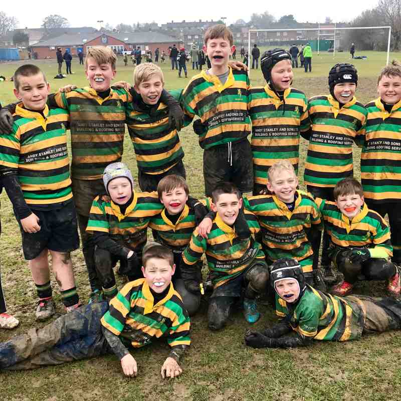 Mellish U,11s at Tupton Jan 2017