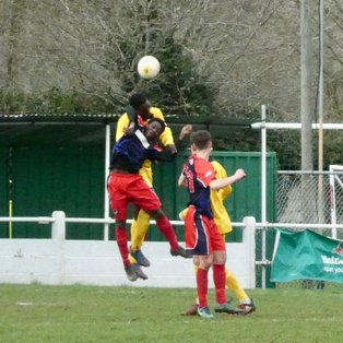 Godalming Town 1 Fleet Spurs 3 (Combined Counties League Division 1)