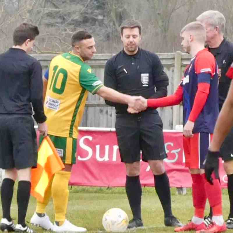 Fleet Spurs Away at Godalming Town
