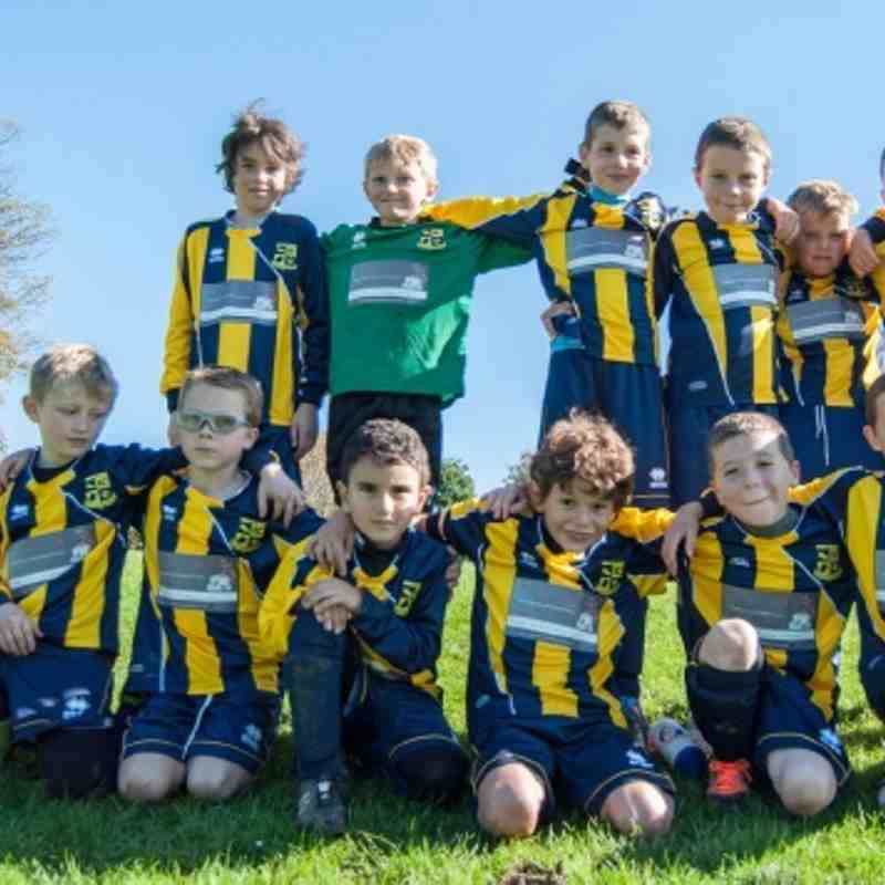 Mile Oak Wanderers U9's V Hove Park Colts
