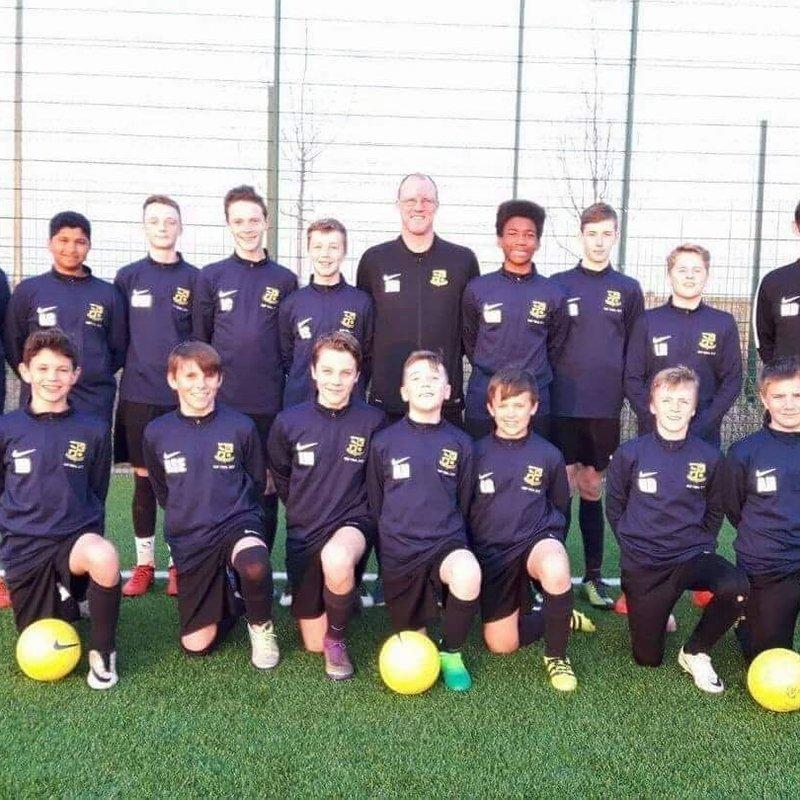 Under 14 Yellow lose to Crawley Down Gatwick 1 - 0