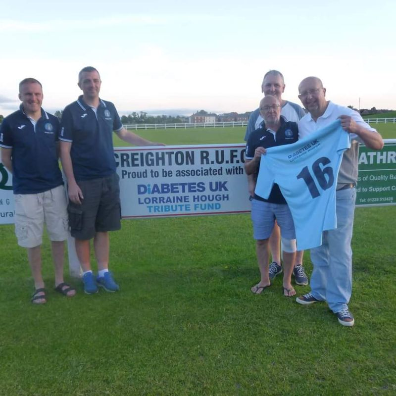 Creighton Rangers secure second year of sponsership