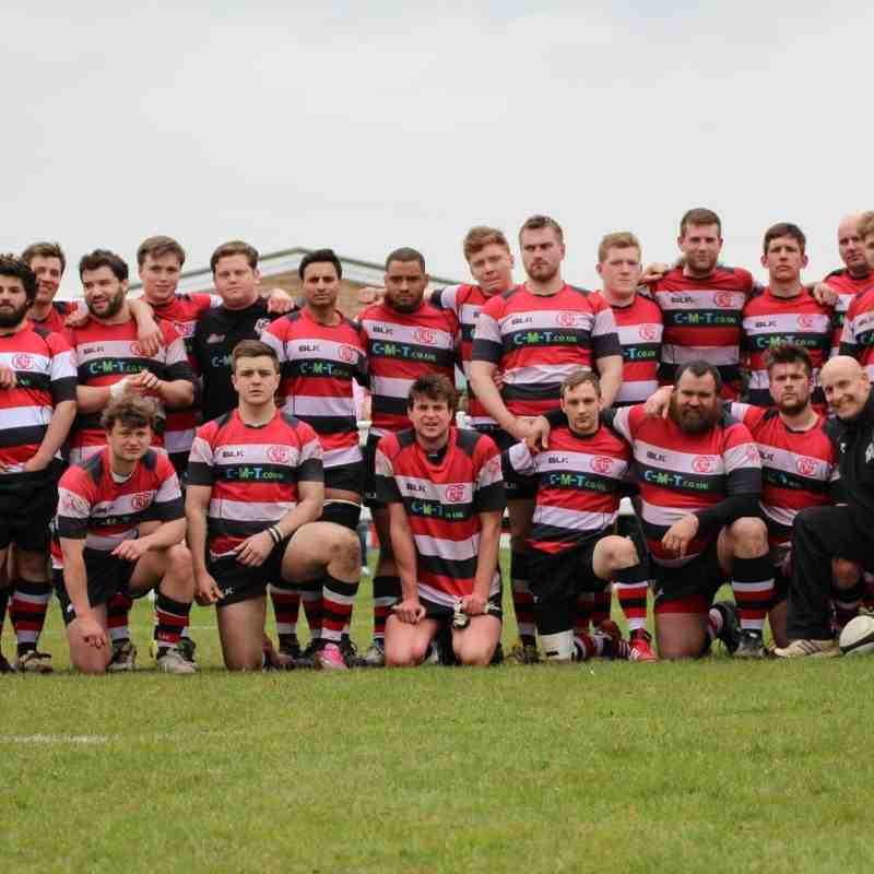 National RFU Senior Vase Semi Final Oundle Eagles v West Leeds