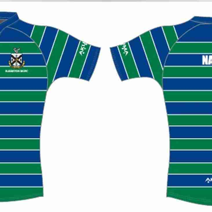 Junior and Mini playing shirt order