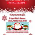 Ilkeston Mini's Christmas Party 18th December