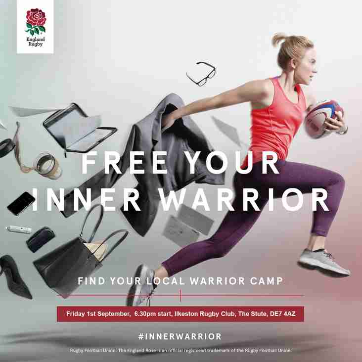 "Women's ""Inner Warrior"" Session 1st September 6.30pm"