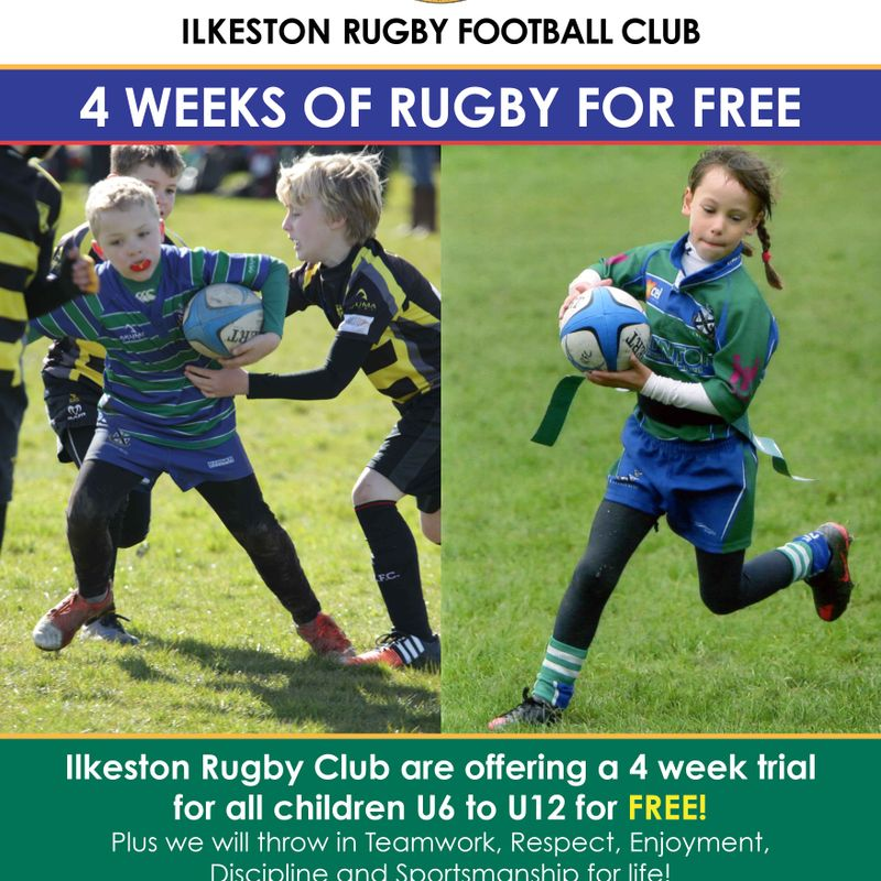 Four Weeks of Rugby FREE