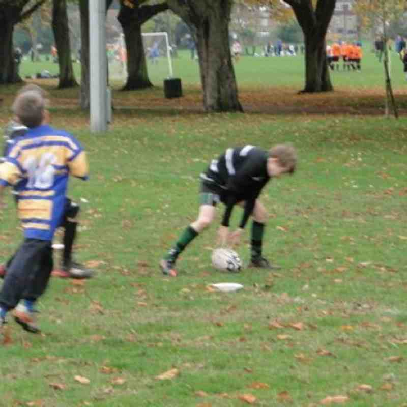 U10s Vs Enfield Away Oct 2012