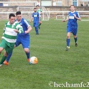 NEWCASTLE CHEMFICA FC 2 v 1 LONGBENTON FC