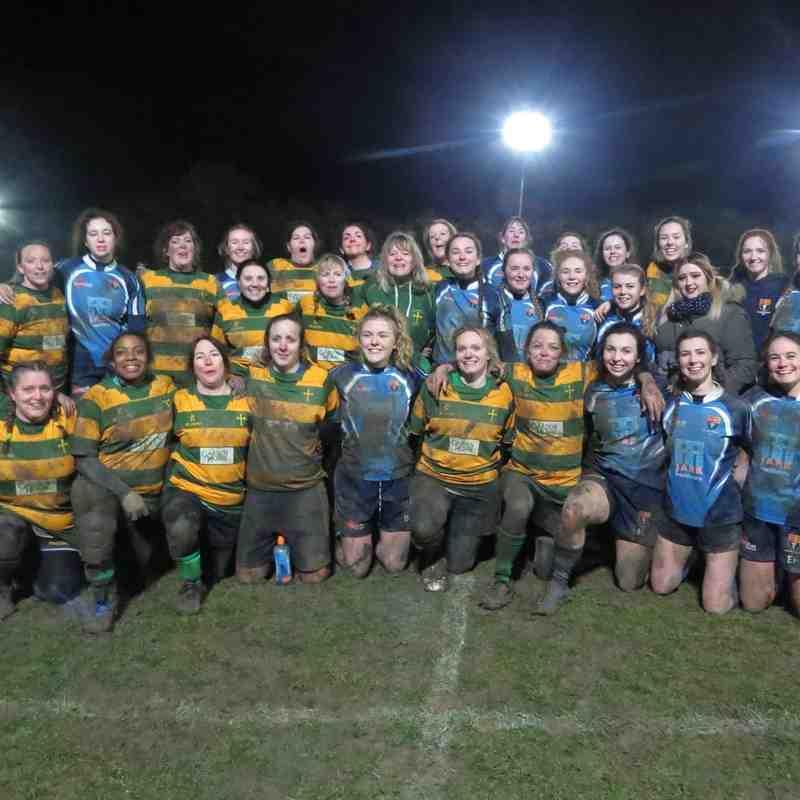 Crusaders ladies vs Norwich medics ladies 1/2/2019