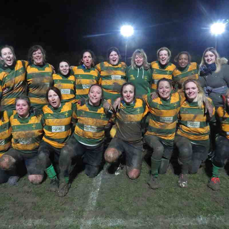 Crusaders ladies vs Norwich medics ladies 1/2/2019