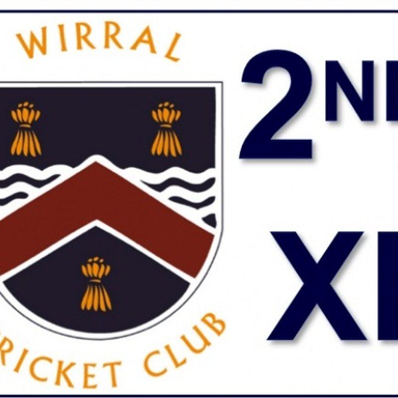 Cholmondeley CC - 2nd XI 87 - 88/4 Wirral CC - 2nd XI